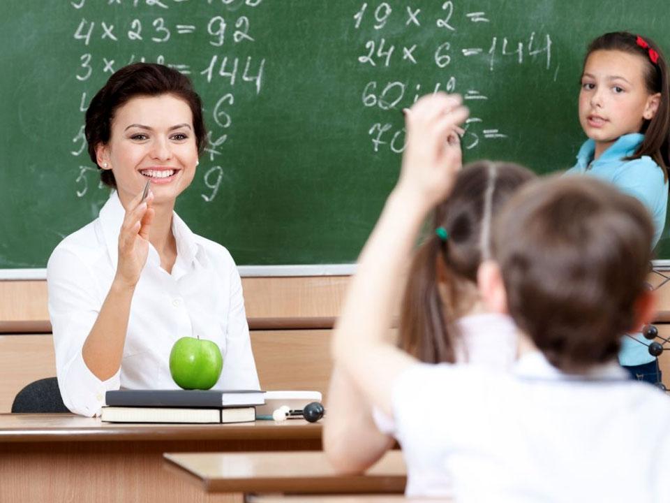 овес, фото вчитель з указкою доступные точки фокусировки