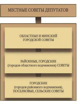 Государственная власть Органы местного управления и самоуправления
